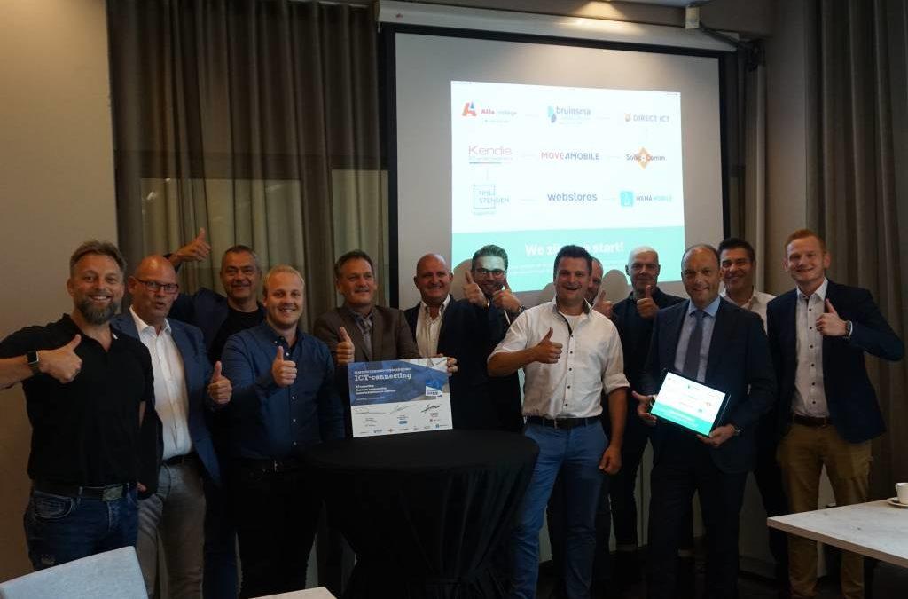 Alfa-college en partners project ICT-connecting tekenen voor vernieuwend ICT-onderwijs